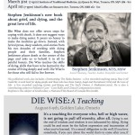 Die Wise: A Teaching by Stephen Jenkinson